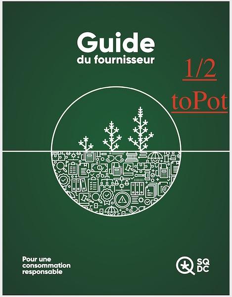 #39 – Guide du fournisseur de la SQDC –