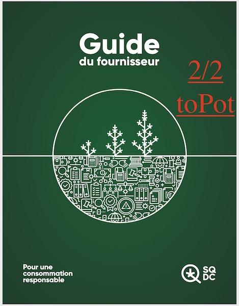 #40 – Au comptoir! – Guide du fournisseur de la SQDC 2/2 –